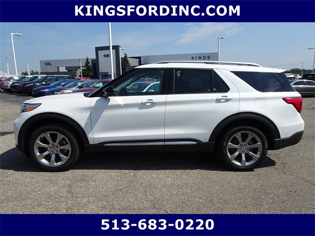 New 2020 Ford Explorer Platinum With Navigation Awd