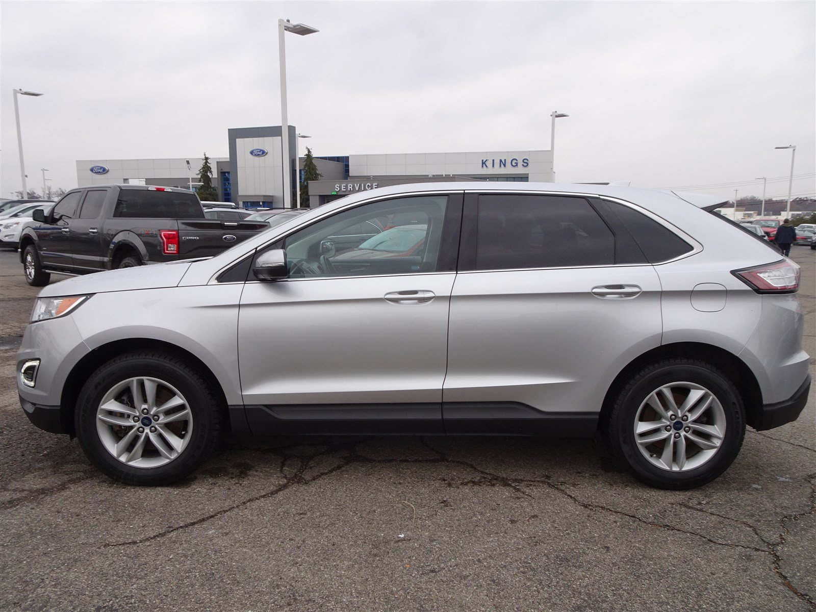 Certified pre owned 2016 ford edge sel
